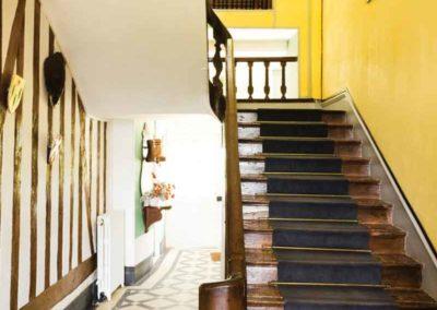 La Grange de Bourgoult Escalier maison de la commanderie